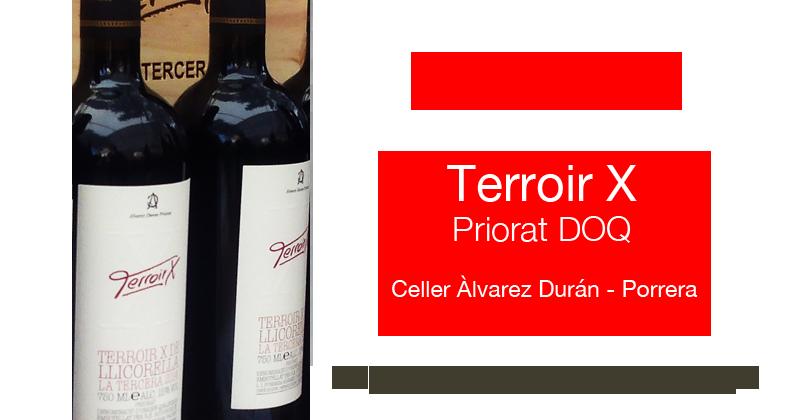 Vinos Priorat - Terroir X Priorat Alvarez Duran