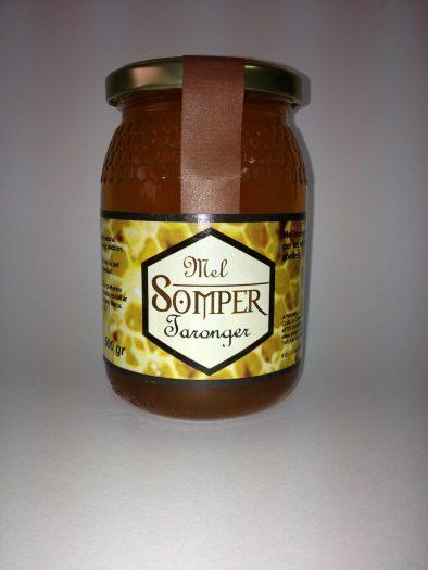 miel artesana de flor de azahar somper