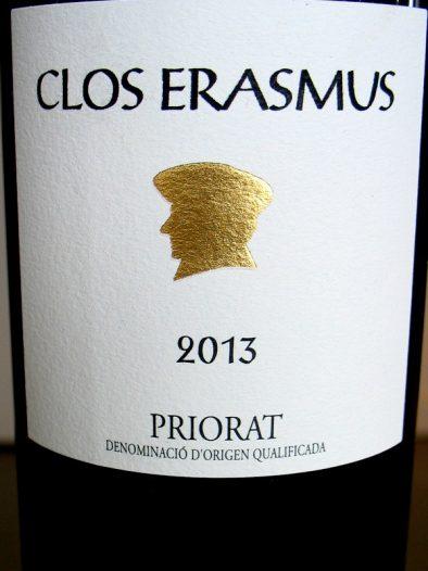 Clos Erasmus 2013 Priorat